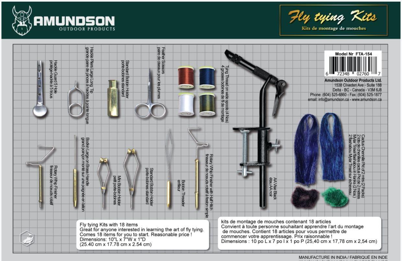 25 Porte bobine outils montage pêche à la mouche fly tying tools N°1